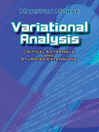 Variational Analysis (eBook): Critical Extremals and Sturmian Extensions