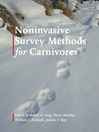 Noninvasive Survey Methods for Carnivores (eBook)