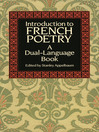 Introduction to French Poetry (eBook): A Dual-Language Book