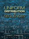 Uniform Distribution of Sequences (eBook)