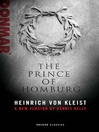 The Prince of Homburg (eBook)