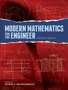 Modern Mathematics for the Engineer: Second Series (eBook)