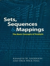Sets, Sequences and Mappings (eBook): The Basic Concepts of Analysis