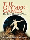 The Olympic Games (eBook): The First Thousand Years