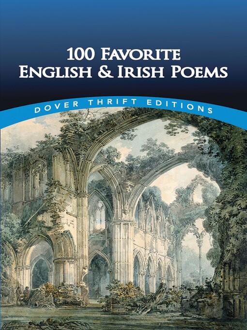 100 Favorite English and Irish Poems (eBook)