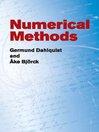 Numerical Methods (eBook)
