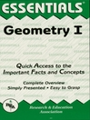 Geometry I Essentials (eBook)