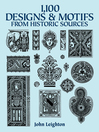 1,100 Designs and Motifs from Historic Sources (eBook)