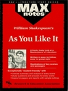 As You Like It: MAXNotes Literature Guide (eBook)