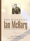 The Essential Ian McHarg (eBook): Writings on Design and Nature