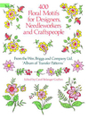 400 Floral Motifs for Designers, Needleworkers and Craftspeople (eBook)