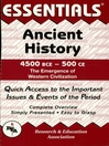 Ancient History: 4500 BCE to 500 CE Essentials (eBook)