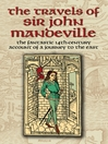 The Travels of Sir John Mandeville (eBook): The Fantastic 14th-Century Account of a Journey to the East