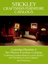 Stickley Craftsman Furniture Catalogs (eBook)