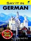 Say It in German (eBook)