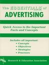 Advertising Essentials (eBook)