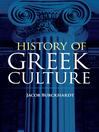 History of Greek Culture (eBook)