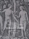 Complete Engravings, Etchings and Drypoints of Albrecht Dürer (eBook)