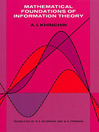 Mathematical Foundations of Information Theory (eBook)