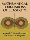 Mathematical Foundations of Elasticity (eBook)