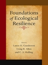 Foundations of Ecological Resilience (eBook)