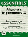 Algebra & Trigonometry II Essentials (eBook)