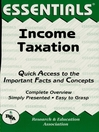 Income Taxation Essentials (eBook)