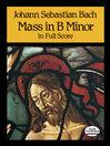 Mass in B Minor in Full Score (eBook)