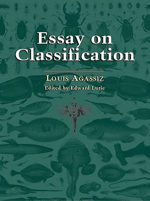 Essay on Classification (eBook)