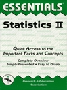 Statistics II Essentials (eBook)