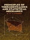 Principles of Thermodynamics and Statistical Mechanics (eBook)