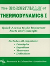 Thermodynamics I Essentials (eBook)