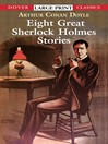 Eight Great Sherlock Holmes Stories (eBook)