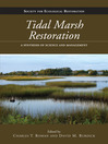 Tidal Marsh Restoration (eBook): A Synthesis of Science and Management