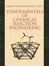 Fundamentals of Chemical Reaction Engineering (eBook)