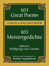 103 Great Poems (eBook): A Dual-Language Book