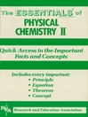 Physical Chemistry II Essentials (eBook)