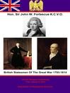 British Statesmen of the Great War 1793-1814 (eBook)