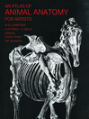 An Atlas of Animal Anatomy for Artists (eBook)