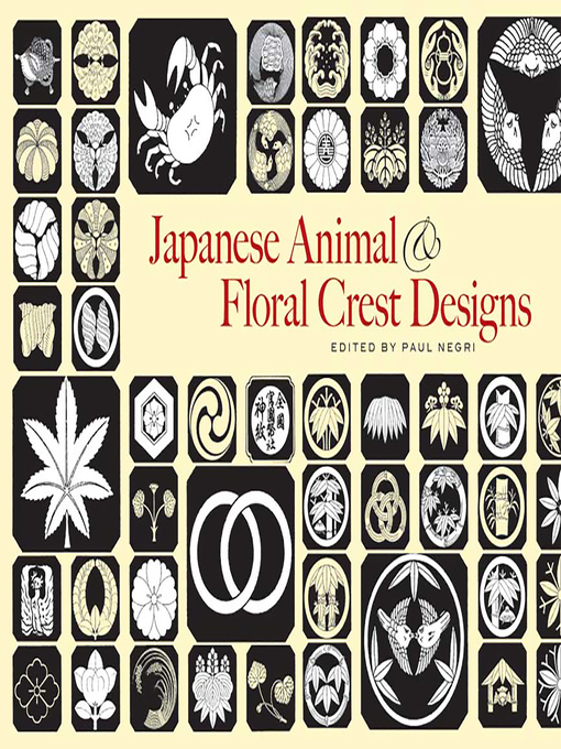 Japanese Animal and Floral Crest Designs (eBook)