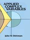 Applied Complex Variables (eBook)