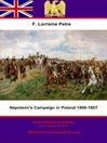 Napoleon's Campaign in Poland, 1806–1807 (eBook)