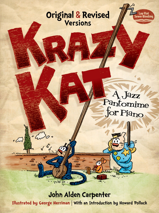 Krazy Kat, A Jazz Pantomime for Piano (eBook): Original and Revised Versions