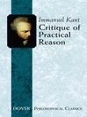 Critique of Practical Reason (eBook)