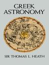 Greek Astronomy (eBook)