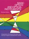 Basic Optics and Optical Instruments (eBook)