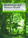 Biodiversity and Human Health (eBook)