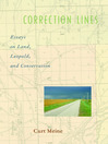 Correction Lines (eBook): Essays on Land, Leopold, and Conservation