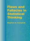 Flaws and Fallacies in Statistical Thinking (eBook)