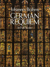 German Requiem in Full Score (eBook)